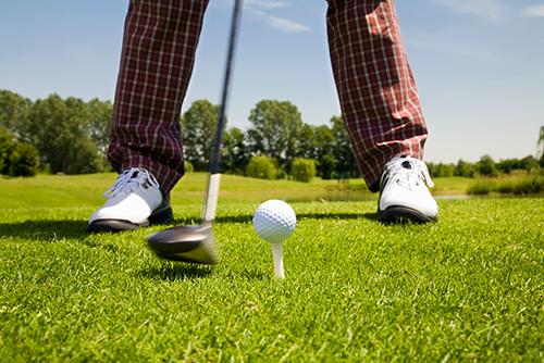 ゴルフ選手の方